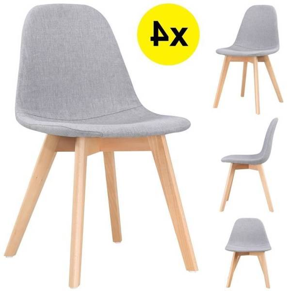 amazon chaise scandinave