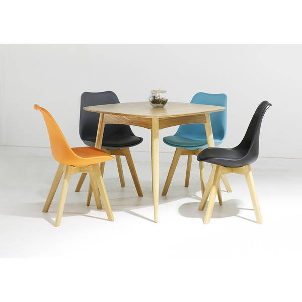 chaises scandinaves patchwork