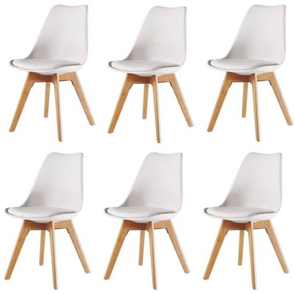 chaise scandinave patchwork pas cher