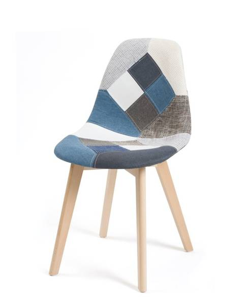 chaise scandinave blanche pas cher