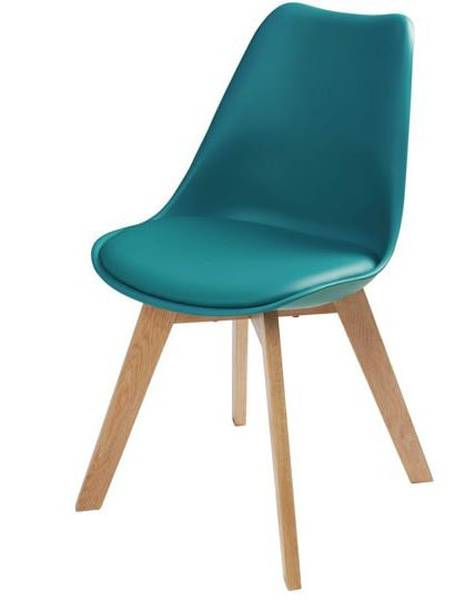 table ronde et chaise scandinave
