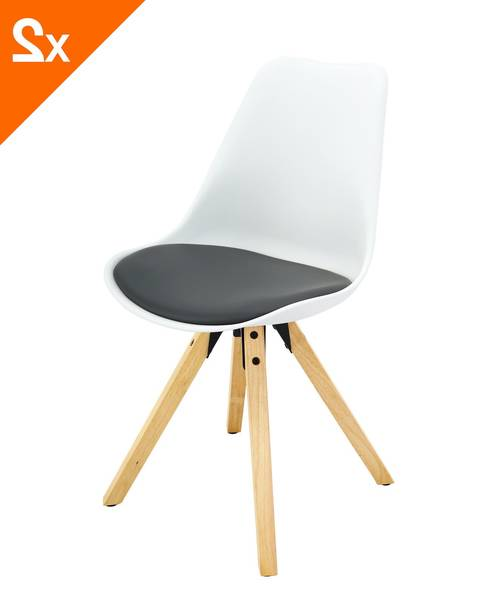 chaise scandinave groupon