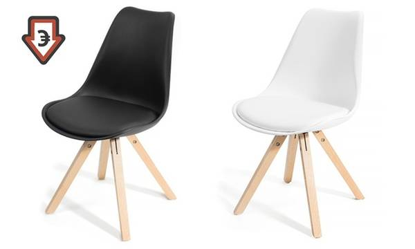 chaise scandinave fly