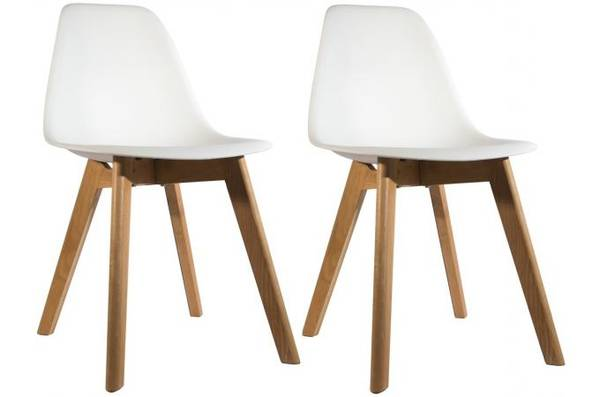 chaise scandinave patchwork groupon