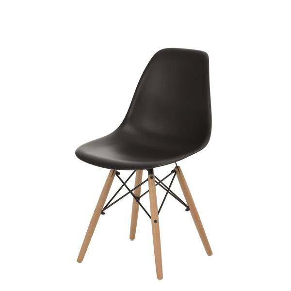 chaise scandinave empilable