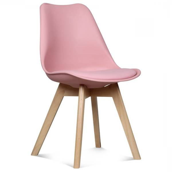 chaise scandinave grise gifi