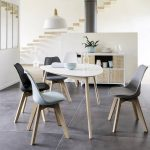 Chaise velours scandinave PROMOS ❤️